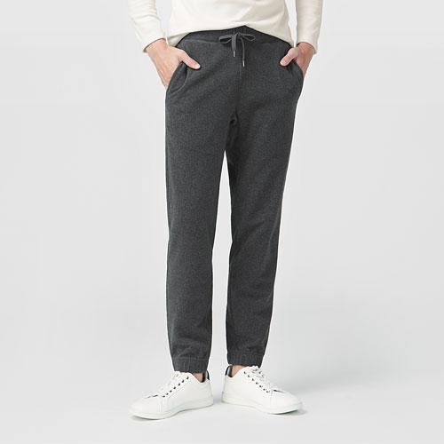 Fleece束口長褲-男