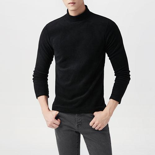 Fleece立領上衣-男