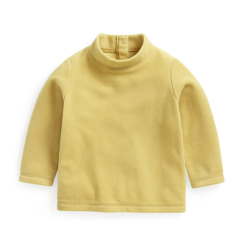 Fleece立領上衣-Baby