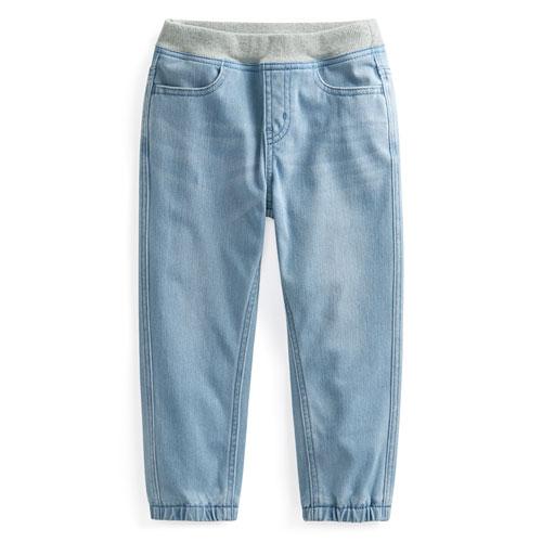 牛仔束口褲-童