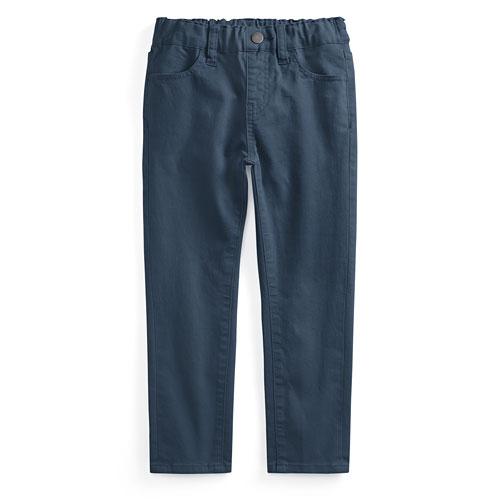 棉質彈性長褲-童
