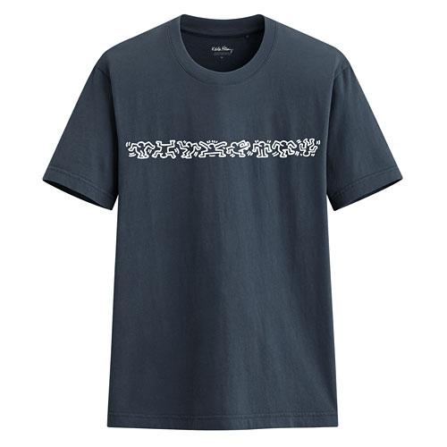 Keith Haring印花T恤-02-男