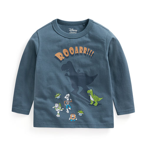 皮克斯系列印花長袖T恤-03-童