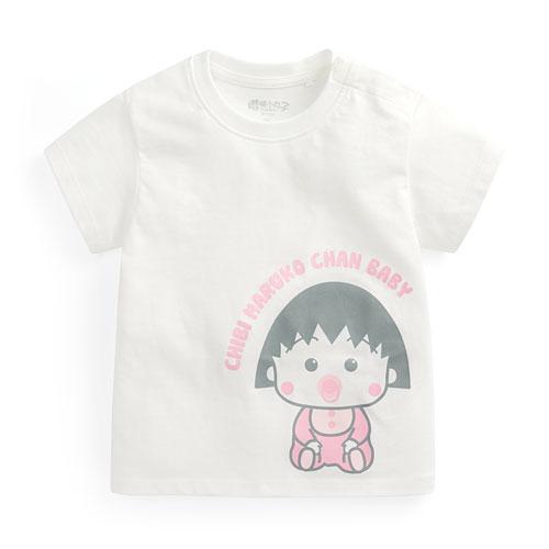 櫻桃小丸子印花T恤-01-Baby