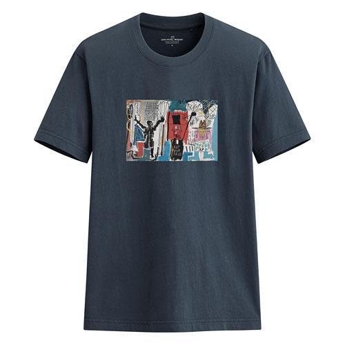 Jean-Michel Basquiat印花T恤-02-男