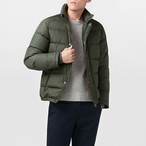 極暖羽絨外套-男